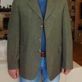 Пиджак мужской оливковый. Besonder. Германия. 48-50 размер.