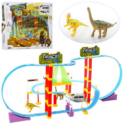 Железная дорога динозавры xm8009ab фото №1