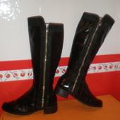 Эффектные сапоги женские деми р.39 Dune, Бразилия,