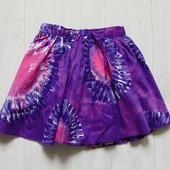 Яркая юбка для девочки. Внутри на подкладке. Next. Размер 3 года. Состояние: новой вещи