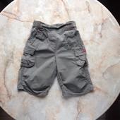 Легкие бриджи штаны на девочку размер 86