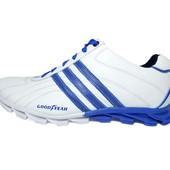 Мужские кроссовки Adidas Good Year White (реплика)