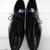 Кожаные туфли 43 разм.