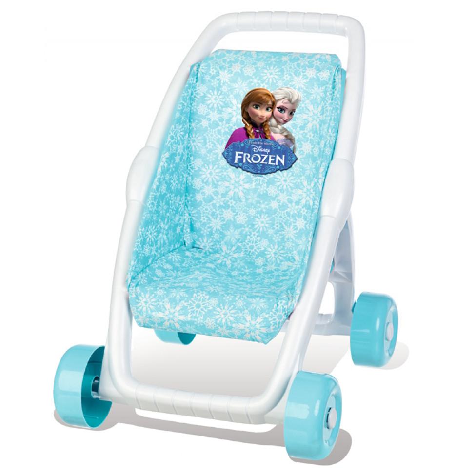 Smoby прогулочная коляска для кукол холодное сердце frozen 513845 фото №1