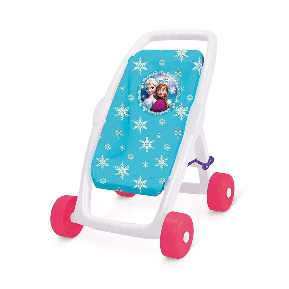 Smoby прогулочная коляска для кукол холодное сердце frozen 250245 фото №1