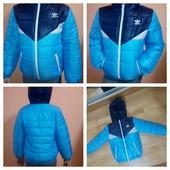 Курточка Adidas весна р 3,4,5,6лет