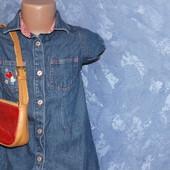 Стильный джинсовый сарафан для девочки 2-3 лет от Marks & Spencer