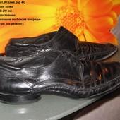 Туфли кожа,Luigi Ferrari,р-р 40