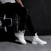 Мужские кроссовки высокие designer shoes, два цвета