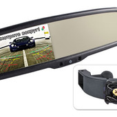 Зеркало заднего вида с монитором Gazer MM504