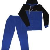 Утепленный трикотажный спортивный костюм