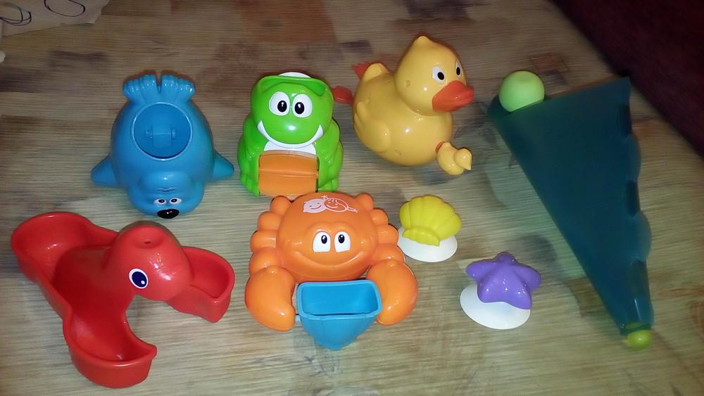 Игрушки для ванной фото №1