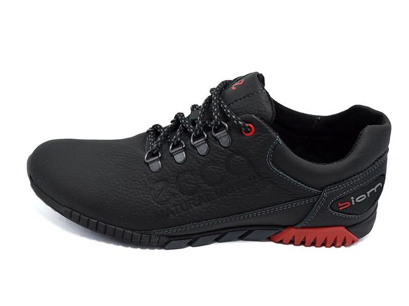 Мужские кроссовки Ecco natur motion biom 16 черные (реплика) фото №1