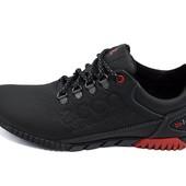 Мужские кроссовки Ecco natur motion biom 16 черные (реплика)