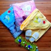 Купальный набор полотенце+тапки