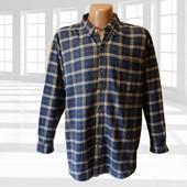 Мужская фланелевая рубашка 100% хлопок р.2Хl Premier International Сша