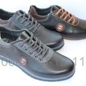 Мужские кожаные туфли, разные цвета