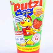 Зубная паста для детей Putzi Со вкусом клубники 50 мл.Гермаия!!!