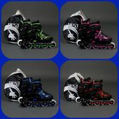 Ролики 6006 Best Rollers, колёса PU, без света.