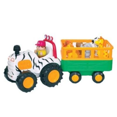 Игровой набор -трактор сафари (на колесах, свет, озвуч рус яз) фото №1