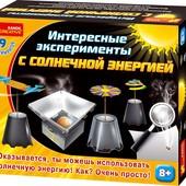 Набор экспериментов с солнечной энергией 12114016Р ранок креатив