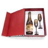 Шикарное Шоколадное шампанское с бокалами в оригинальный размер!