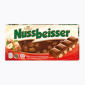 Шоколад Nussbeisser с цельным лесным орехом 100гр. Германия