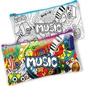 Набор для творчества My Color Clutch - пенал-разукрашка, Музик