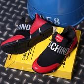 Стильные сникерсы Moschino.New collection 2017