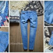 Мужские джинсы-скинни р-р М