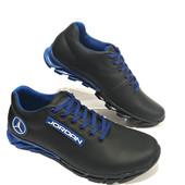 Кроссовки Джордан чёрно-синие