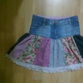 Фирменная юбка 6-7 лет