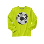 Лонгслив реглан с футбольным мячём Gymboree хлопок на 5-6 лет
