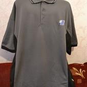 мужской футболка большого размера 130-135 об груди