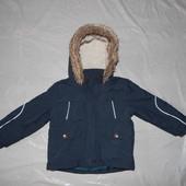 р. 80-86-92, термокуртка парка, Marks&Spencer, деми теплая зима