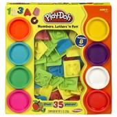 Play Doh игровой набор числа и буквы от Hasbro. В наличии