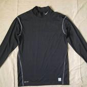 Nike Pro Compresson Dri-fit (3XL) спортивная эластичная кофта мужская
