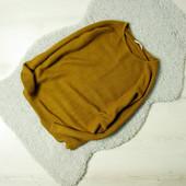 M Pull&Bear горчичный oversize свитер легкой вязки!
