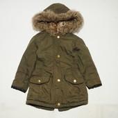 Курточка парка на возраст 4-5 лет