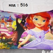 детская подушка с шариками принцесса София  декоративная