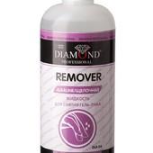 Средство для снятия гель-лака Diamond Prof DLR-04, 500 ml