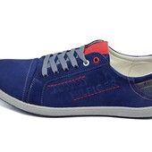 Мужские кроссовки Tommy Hilfiger Stile H4 синие (реплика)