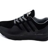 Кроссовки женские Adidas 48 черные