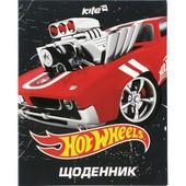 Школьный дневник Kite Hot Wheels hw15-261-2K, уФ-лак