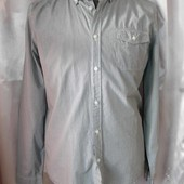 Мужская рубашка слим, хлопок C&A,Clockhouse р. L