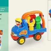 Конструктор - Грузовая машина Joy Toy 8856, на шурупах, инструменты, пила отвертка молоток, водитель