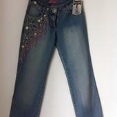 Светлые летние джинсы