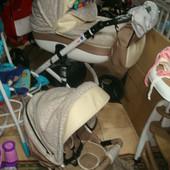 Универсальные детские коляски  2 в 1 Delux,Deamex