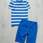 Новая пижамка для парня, можно как летний комплект. F&F. Размер 10-11 лет