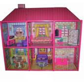 Игровой домик для кукол М 6983